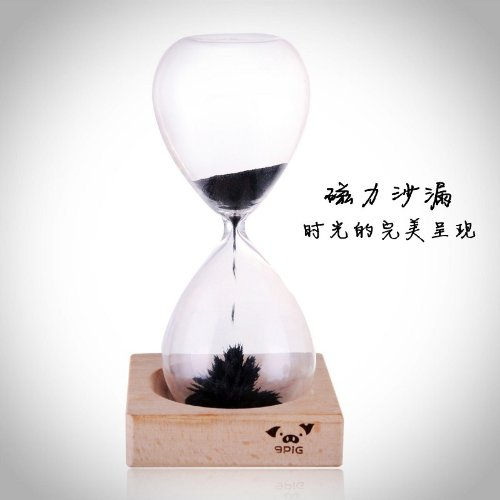 Awaglass Hand-blown Timer Magnet Hourglass / Magnetic Hourglass by Huntingeek GIT-013