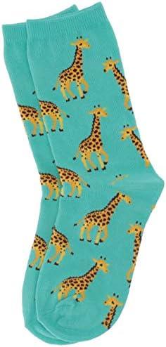 Hot Sox Girls' Animal Series Novelty Casual Crew Socks – The Super Cheap