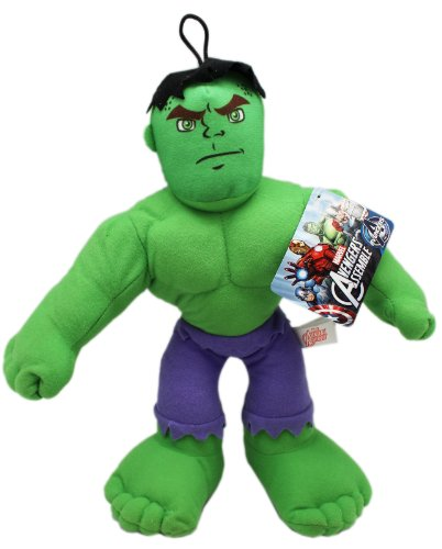 9 Inch Marvel Avengers Assemble The Hulk Stuffed Plush Doll