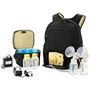 Medela Pump in Style Advanced Double Electric Breast Pump with Backpack, 2-Phase Expression Technology with One-touch Let-down Button, Adjustable Speed and Vacuum