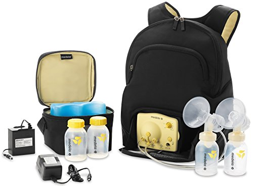 (Medela, Pump in Style, Advanced Double Electric Breast Pump with Backpack, Two-Phase Expression Technology, One-Touch Let Down Button, Adjustable Speed and Vacuum, Tote Backpack)