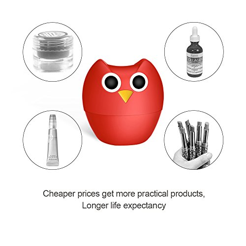 Lip Plumper Enhancer - MEXITOP NANA Owl Soft Silicone Lip Filler Plumping Device, Natural Fuller Thicker Sexy Quick Lip Enhancement Enlarger Tool, Amazing Effect Using w/Lip Gloss (Multiple Styles) by MEXITOP (Image #1)