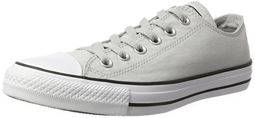 Converse Mens Chuck Taylor Oxford Cotton Trainers Grey