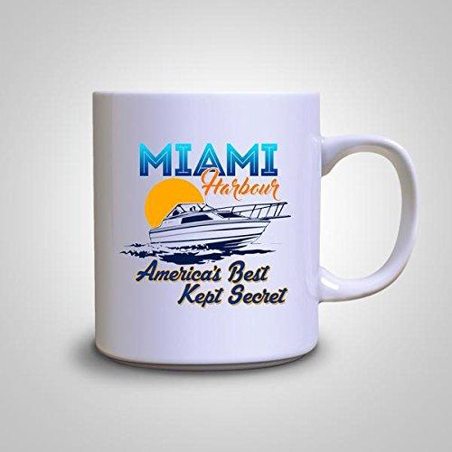 Miami Harbour America's Best Secret Cool Coffee 11 Oz white - Miami Harbour