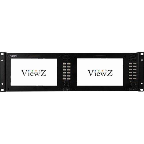 buy ViewZ VZ-070RM-3G 3RU Dual 7.0
