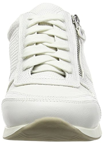 La Strada White Snake Leather Look Sneaker - Zapatillas Mujer Blanco - Weiß (1504 - snake white)