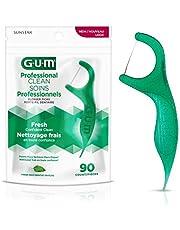 GUM Professional Clean Flossers, Mint, 90ct