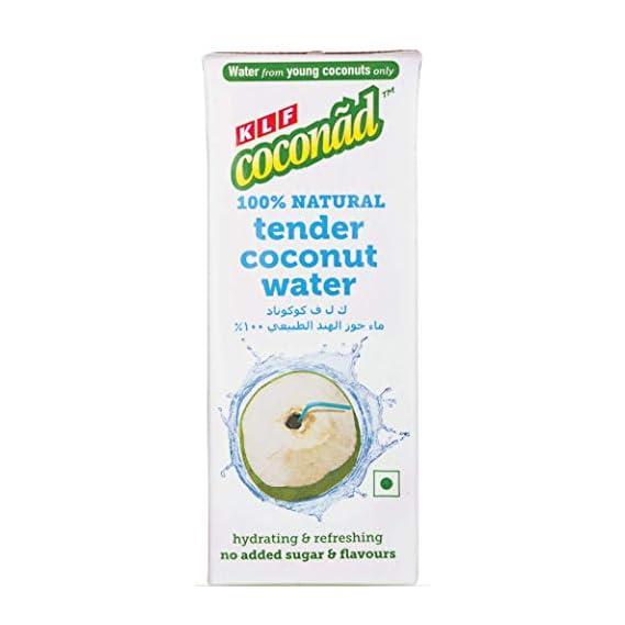 KLF Coconad Tender Coconut Water, 200ml (Pack of 6)