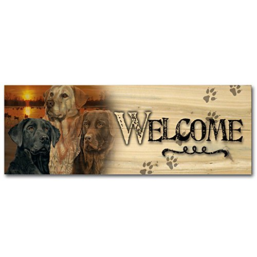 WGI-GALLERY 124 Welcome Lab Trio Wooden Wall