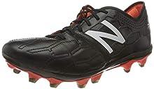 New Balance Visaro 2.0 K-Leder FG, Zapatillas de Fútbol para Hombre, Negro (Schwarz Schwarz), 43 EU