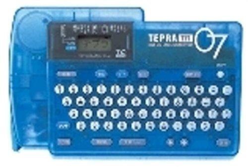 キングジム ラベルライター テプラTR TR07T  青 B000HCBFTQ