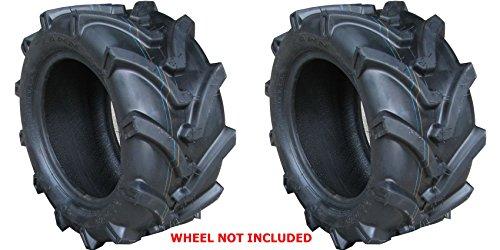 TWO 18X8.50-8 18X850-8 OTR Lawn Trac Bar Lug Tires 4 ply Rated Heavy Duty by OTR LAWN TRAC