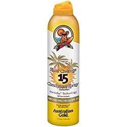 Australian Gold Sheer Coverage SPF 15 Continuous Spray Sunscreen, 6 Fl Oz