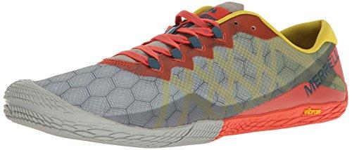 Merrell Men's Vapor Glove 3 Trail Runner, Orange/Green, 10 M US