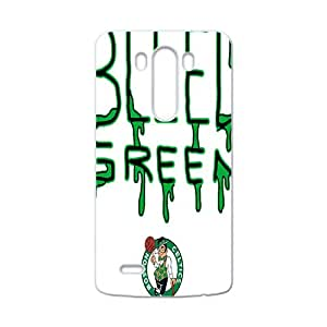 Boston Celtics NBA White Phone Case for LG G3 Case