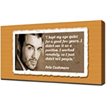 Pete Cashmore Quotes 1 - Canvas Art Print