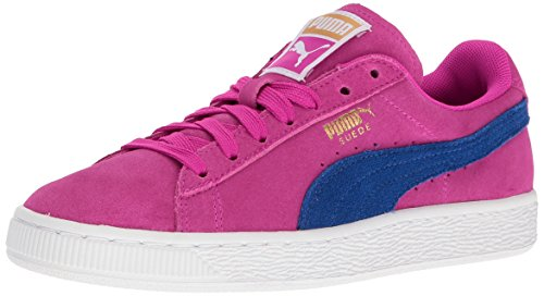 PUMA Women's Suede Classic Wn's Fashion Sneaker, Ultra Magenta-True Blue, 7 M US (Women Pink Puma Shoes)