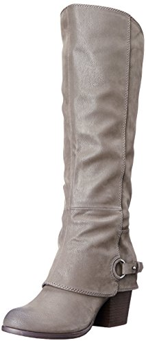 Fergalicious Women's Lexy Western Boot,Grey , 8 M US