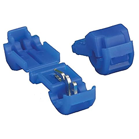 Install Bay 3MBTT 3M T-Tap Connector 18/14 Gauge - 100 Pack (Blue) (Tap Blue)