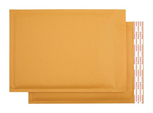 (Office Depot Self-Sealing Bubble Mailers, Size 5, 10 1/2in. x 15in, Pack of 12, 284340)