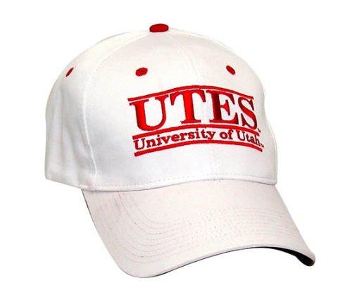 "Utah Runnin Utes ""UTES"" The Game Classic Bar Adjustable Cap with Mascot Name"