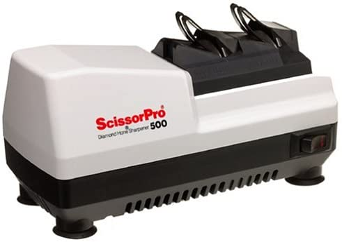 Scissor Sharpener-Chef's Choice ScissorPro Diamond Hone Sharpener– A Professional Electric Scissor Sharpening Machine