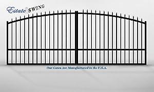 Estate Swing 16ft Dual Aluminum Driveway Gate Gate