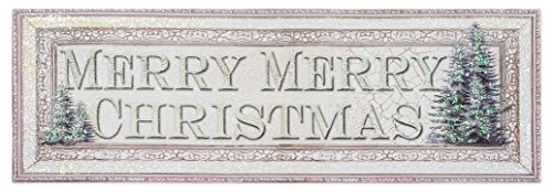 Ohio Wholesale Merry Merry Christmas Large Lighted Canvas 10