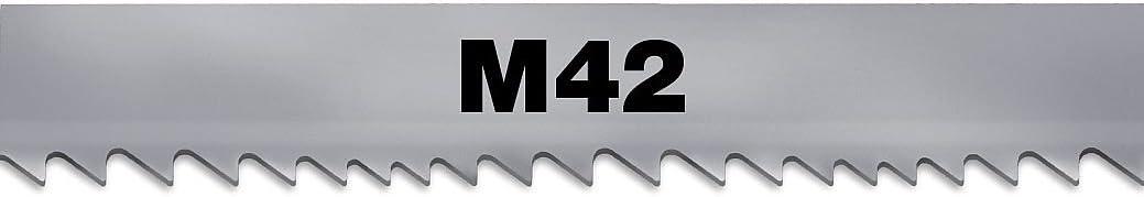 "MORSE Band Saw Blade,M-42 Bimetal,1 In W ZWEG083C610M42-11/' 6/"""