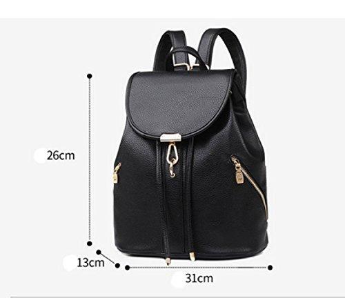 Shoulder Ladies Travel Laidaye Bag Wind Backpack Schoolbag College Leisure Bag Blue Handbags Bag Student SxwPCwzq0