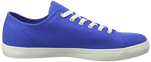 Nebulas Stringate Timberland J45 bay Oxford Scarpe Canvas Newport Uomo Blu Blue Canvas 6ICRqIx8n