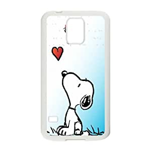 Snoopy Hard Case Cover Skin For Samsung Galaxy S5 TPUKO-Q832475