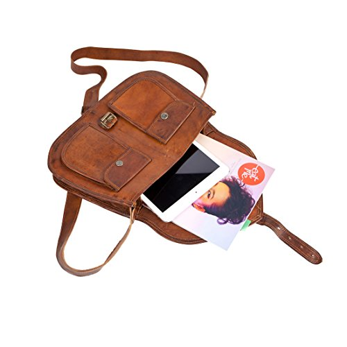 81stgeneration Messenger Everyday Casual Vintage City Bag Satchel Genuine College Shoulder Bag Work prApvq