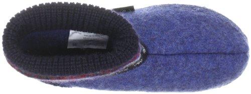 Giesswein Kristiansand 58/10/41523 - Zapatillas de casa de fieltro para niños Azul (jeans 527)