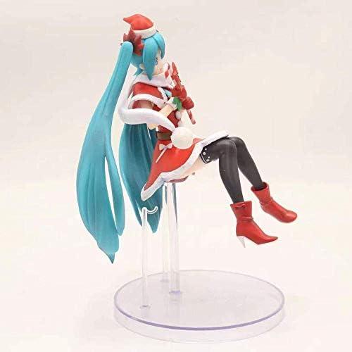 Radiancy Inc Geschenk Hatsune Miku 2nd Generation Weihnachten Hatsune PVC bewegliche Anime Figur Figur Set Höhe: 25cm Anime Geschenk Skulptur Sammlerstück