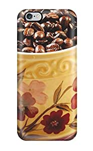 Special Design Back Cup Of Coffee Beans Phone Case Cover For Iphone 6 Plus