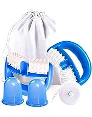 Aibeau Anti Cellulite Roller, Massageroller & Schröpf Cup Set für Fettreduktion zum Entfernen von Cellulite, Massage Geräte Set zur Verbesserung des Hautbildes