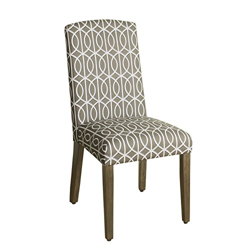 Pattern Upholstered Accent Chair - 8