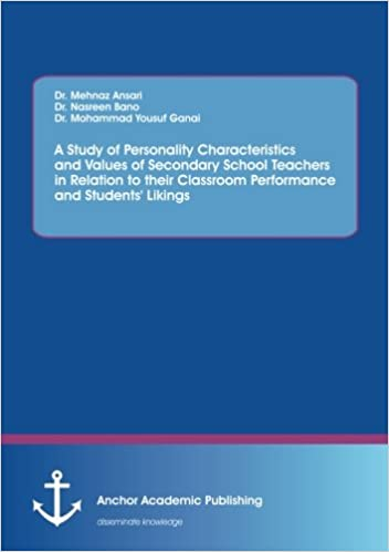 personality characteristics of a teacher