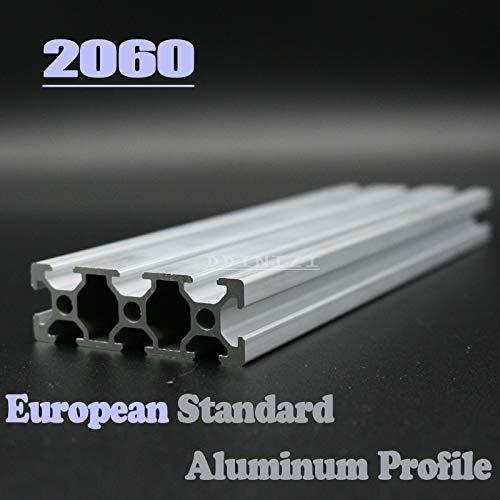 Ochoos 2060 Perfil de aluminio anodizado estándar europeo 2060 ...