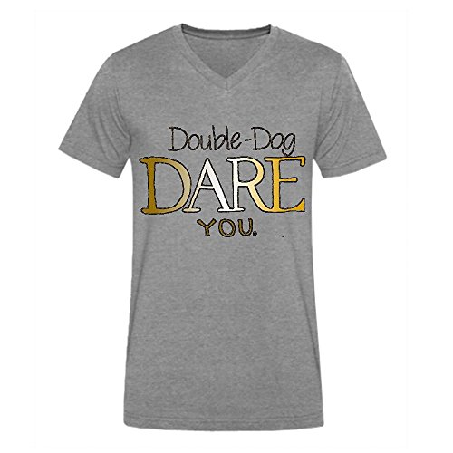 Monster Dog Ducati - Double Dog Dare You Men Short Sleeve Grey Big Tall