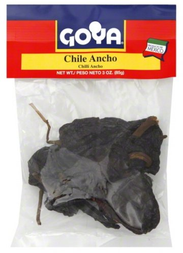 Goya Chile Ancho Mexican Seasoning 3oz (Pack of 02)
