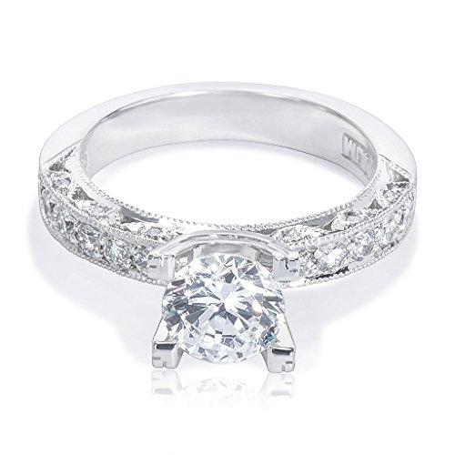 Tacori Engagement Ring Setting in Platinum HT 2229A-40X (Diamonds 3/8 CTW) (Tacori Platinum Engagement Rings compare prices)