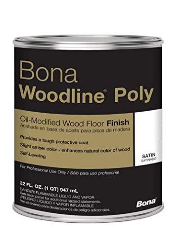 Bona Woodline Polyurethane Satin Quart