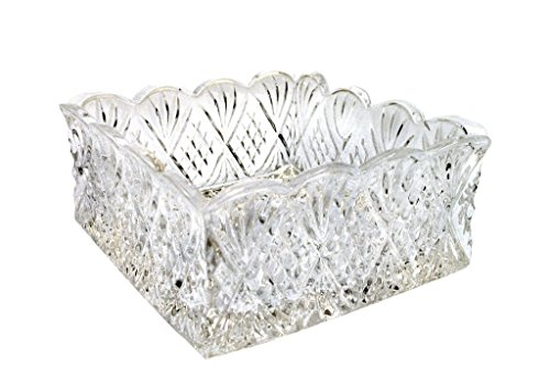 Godinger Dublin Napkin Holder well-loved patterns Lead Crystal - Color Clear Additional Vibrant Colors Available by TableTop King