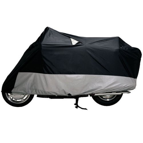 DOWCO Guardian WeatherAll Plus Motorcycle Cover (BLACK) (Motorcycle Plus Cover Weatherall)
