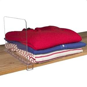 Acrylic Shelf Divider - Clear