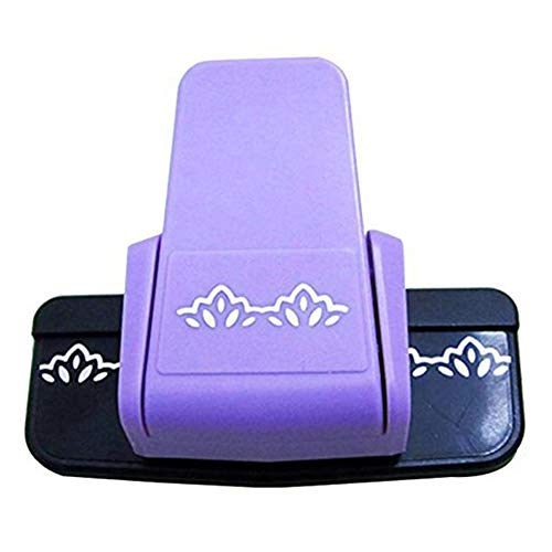 DierCosy New Fancy Border Punch Flower Design Embossing Punch Scrapbook Handmade Edge Equipment DIY Paper Cutter Handmade Craft Gift Household Products