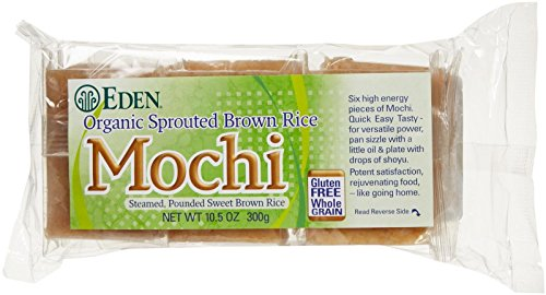 Eden Sprouted Brown Rice Mochi - 10.5 Ounces (Eden Organic Brown Rice)