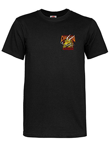 (Powell-Peralta Cab Street Dragon T-Shirt, Black, X-Large)